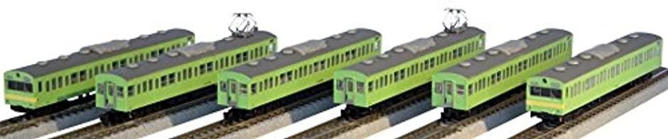 ロクハン 国鉄103系 ウグイス・警戒色 関西線タイプ 6両セット T022-11の商品画像|ナビ
