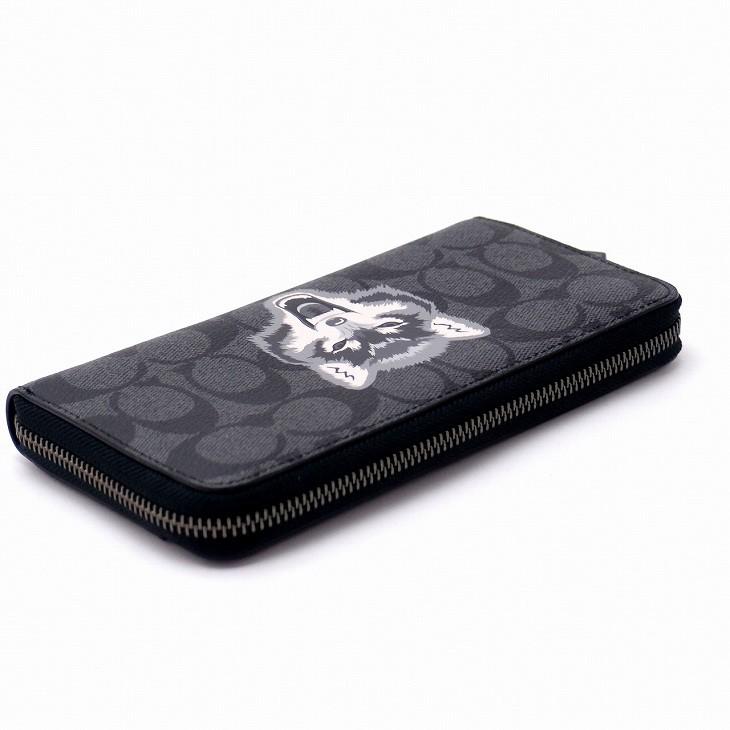0c794048d8d0 コーチ(COACH)。こんなメンズ財布を求めてた。 モテる男子は柄で遊ぶ。出来る男のラウンド長財布。