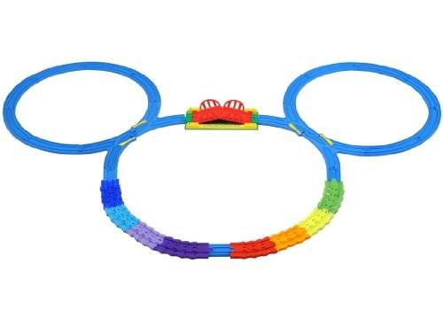 タカラトミー プラレール ディズニードリームレールウェイ ミッキーマウス カラフルレールセットの商品画像|ナビ