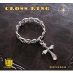 十字架が揺れる指輪(1)05号 07号 09号 11号 13号 17号 19号 21号 23号 メイン シルバー925製指輪リング銀十字架クロス