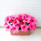 0101PP-SHOP造花プランターで店舗装飾を華やかに
