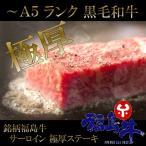黒毛和牛 サーロイン ステーキ 極厚 5枚 A5 A4 国産 銘柄 ...--60000