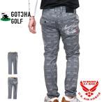 ガッチャゴルフ ロゴ刺繍 ドライ ストレッチパンツ ハーフパンツ メンズ GOTCHA GOLF 202gg1803