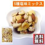 5種塩味ミックスナッツ500g ポイント消化 送料無料