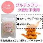 【即納】ヘルシーフレーク100g 小麦粉不使用 グルテンフリー おからパウダー51%、米粉49%  定形外郵便200円