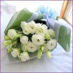 お供え花束(トルコキキョウの花束)・メッセージカード付
