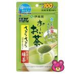 伊藤園 お〜いお茶 さらさら抹茶入り緑茶 80g×6個入 おーいお茶 /食品
