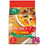 東洋水産 マルちゃん 朝の満足スープ トマト酸辣湯 10.2g×3個×12パック入 /箱/ケース/食品