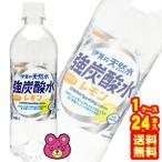 伊賀の天然水 強炭酸水レモン 500ml×24本 PET