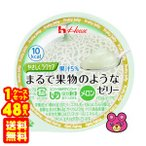 ハウス食品 やさしくラクケア まるで果物のようなゼリー メロン 60g×48個入 /食品
