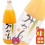 国産 無添加 ストレート みかんジュース 瓶 1L×6本入 1000ml 日本果実工業 /飲料