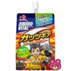 味の素 アミノバイタル ゼリードリンク ガッツギア りんご味 パウチ250g×30個入(ゼリー飲料)