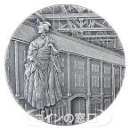 国宝章牌 富岡製糸場 純銀メダル 2015年 造幣局画像