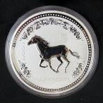 オーストラリア 銀貨 馬 1kg 30ドル 2002年