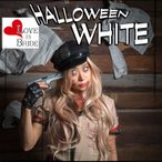 Yahoo!カラコン通販 1-D ROYALゾンビ カラコン ハロウィンホワイト 1ヶ月用1枚 ラブイズブライド HALLOWEEN WHITE 白 カラコン コスプレ