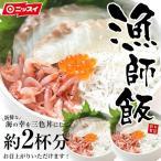 海鮮三色丼A 約2杯分 海鮮丼セット 賞味期限2018年6月22日 期間限定価格 配送日指定不可