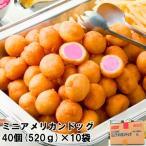 冷凍食品 ニッスイ ミニアメリカンドッグ 40個(520g) 1ケース(10袋) ソーセージ ウインナー アメリカンドッグ ポイント消化 業務用 買い置き