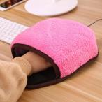 送料無料 USB あったか マウスパッド ヒーター USBハンドウォーマー 温熱マウスパッド