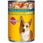 [ペディグリー]Pedigreeチャム 7歳以上用 ビーフ&チキン&緑黄色野菜 400g / 犬用 4902397809678 ウェット 缶 ドッグフード いぬ #w-100381