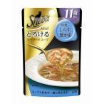 シーバ [Sheba] アミューズ 11歳以上 とろけるシーフードスープ お魚・しらす・蟹かま添え 40g / 猫用 JAN:4902397821908 #w-114174