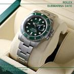 ロレックス ROLEX サブマリーナデイト Submarina Date グリーンサブ 116610LV 新品