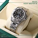 ロレックス ROLEX ヨットマスター40 Yatch-Master 40 116622 ダークロジウム  保護シールあり 新品