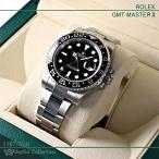ロレックス ROLEX GMTマスターII 黒 GMT Master II 116710LN 保護シール一部あり 新品