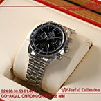 オメガ(時計)  スピードマスター 38 324.30.38.50.01.001 ブラック 新品