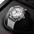 ウブロ(HUBLOT) ビッグバン サンモリッツ スティールホワイト ダイヤモンド 342.SE.230.RW.114