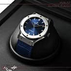 ウブロ(HUBLOT)時計 クラシックフュージョン チタニウム ブルー 511.NX.7170.LR 新品