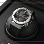 ウブロ(HUBLOT)時計 クラシックフュージョン クロノグラフ チタニウム グレー 521.NX.7071.LR 新品