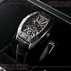 フランク・ミュラー コンキスタドール グランプリ 9900 CC DT GPG BLK レザー