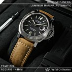 パネライ時計(PANERAI) ルミノール マリーナ オートマティック PAM01104 新品