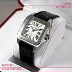 カルティエ(Cartier) 時計 サントス 100 LM SS 銀 W20073X8