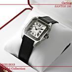 カルティエ(Cartier) 時計 サントス 100 MM SS 銀 W20106X8