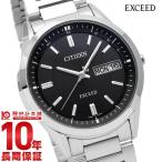 エクシード シチズン EXCEED CITIZEN エコドライブ 電波ソーラー  メンズ 腕時計 AT6030-51E