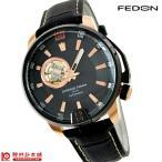 腕時計 メンズ ジョルジオフェドン1919 タイムレス3 ブラック×ブラック  GFBA003