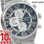 『2000円割引クーポン』腕時計 メンズ エンジェルクローバー ダブルプレイ ネイビー 10気圧防水 DP44SNV