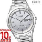 エクシード シチズン EXCEED CITIZEN エコドライブ ソーラー電波  メンズ 腕時計 AT6030-60A