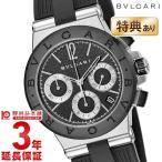 ブルガリ BVLGARI 腕時計 ディアゴノ ブラック文字盤 DG37BSCVDCH メンズ