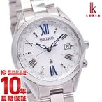 最大ポイント22倍 ルキア セイコー LUKIA SEIKO チタン ソーラー電波 10気圧防水  レディース 腕時計 SSQV053