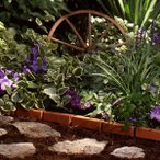 TOSHO サンキャスト ボーダーエッジング(レンガ) カラー: テラコッタ W30×D3.8×H14cm (BBE10TC)(約2.76kg)