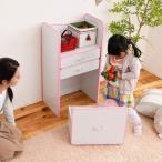 ランドセル 収納 ホワイト/ピンク (FES-0003-WHPK) ランドセルラック 子供部屋