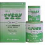クレオソートに代わる木材防腐剤 クレオトップ 16L缶 【クリア】
