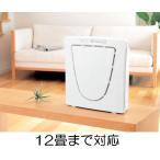 空気清浄機ファンディファイン ヘパ AC-4238W カラー:ホワイト(白)12畳まで タバコの臭いや、花粉・ほこり・脱臭に