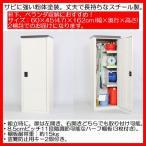 右左開き選択可能、ハーフ棚板付き。家庭用小型収納庫