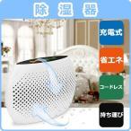ミニ除湿機 充電式ポータブル吸湿乾燥機 カビ防止 梅雨対策 家庭用 小部屋用 安心のPSE認証済み