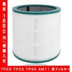 空気清浄機能付ファン交換用フィルター TP03 TP02 TP00 AM11 用フィルター 互換品