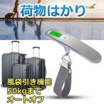 旅行はかり デジタル はかり 計量 器 携帯式デジタル スケール ステンレス仕上げ 最大50kgまで量れる 旅行 アウトドア  便利 軽量
