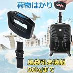 ラゲッジスケール デジタル 吊りはかり 旅行用はかり スーツケース はかり 荷物計り デジタル 計量器 ラゲッジチェッカー ハンギングスケール 風袋引き機能付